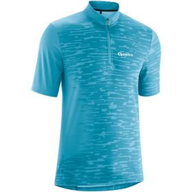 Gonso Hans Fietsshirt korte mouwen Heren turquoise